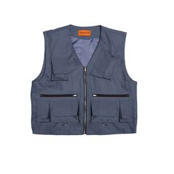 [DUCK DIVE]LEVEL 2 TECH VEST  DARK BLUE