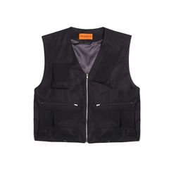 [DUCK DIVE]LEVEL 2 TECH VEST  BLACK