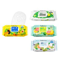 [일본직구] 사보리노 아침전용 60초 마스크팩4종류