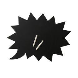 [2만원 이상 구매시 에코백 증정] 말풍선 블랙 보드3003504