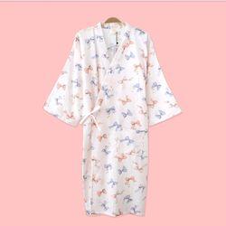 로맨틱 리본 유카타 원피스 잠옷