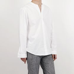 Collarless v tim tunic shirts