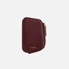 Reims Pebble Card Wallet burgundy