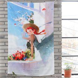패브릭 포스터(대)-앤 창가