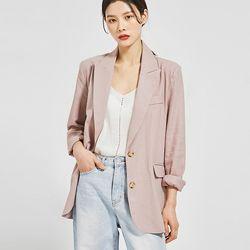 lucy linen single jacket