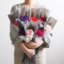 카네이션한송이꽃다발 (8color)
