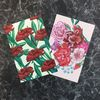 PP POSTCARD - a buch of flowers