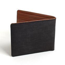 수제 가죽 지갑 매쉬 블랙