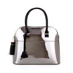 J Museum M Handbag-Dark Silver