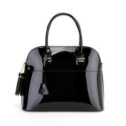 J Museum M Handbag-M Black