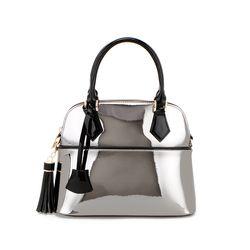 J Museum S Handbag-Dark Silver