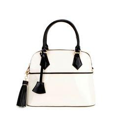 J Museum S Handbag-M Ivory