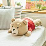 [~5/4까지] 19곰 테드 라잉 대형 곰인형 레드 50CM