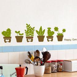 im719-초록초록해피가든그래픽스티커