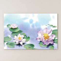 cu297-연꽃풍경중형노프레임