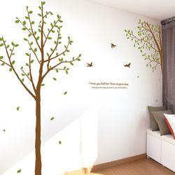 im721-새들이쉬다가는행복한나무그래픽스티커