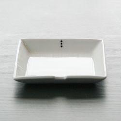 담원 정사각 접시 [소]