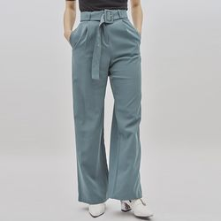 smooth belt slacks (3 color)