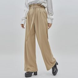 pleats wide pants (3 color)