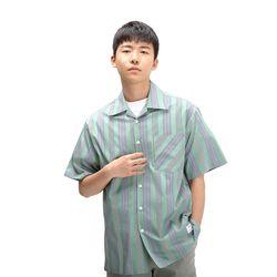 POWIT Green Stripe Shirts