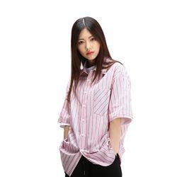 POWIT Pink Stripe Shirts