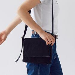 multi color square bag - black color