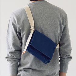 multi color square bag - blue color