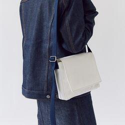 multi color square bag - off white color