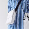 active daily square bag - white color
