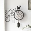 빈티지 팜꼬꼬 양면시계 (17TZ187F3A)