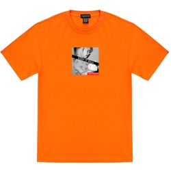 트립션 킵잇리얼2 티셔츠 - 오렌지