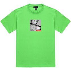 트립션 킵잇리얼2 티셔츠 - 라임