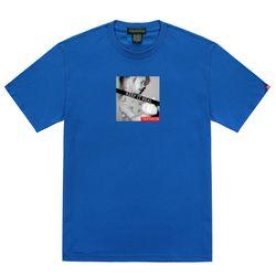 트립션 킵잇리얼2 티셔츠 - 블루