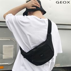 [GEOX] 트립 웨이스트백 블랙