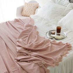 허니비 레이스 스프레드-핑크(Q사이즈)
