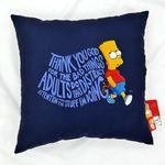 The Simpson 사각쿠션 바트