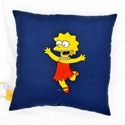 The Simpson 사각쿠션 리사
