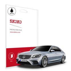 스코코 벤츠 S450 계기판 올레포빅 액정보호필름 2매