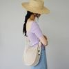 knot point linen mini bag