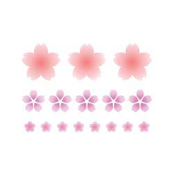 블랭코 스텐실도안910 벚꽃 템플릿(A5)