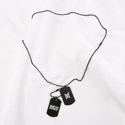 MONSTER CHAIN NECKLACE  BLACK