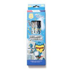 1000 캐릭터 연필세트 HB(남5본)