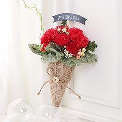 카네이션 꽃다발(레드)