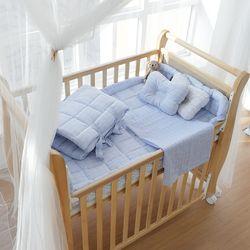 [쟈니스타] 슈아비 아기침대전용 침구SET - 스카이