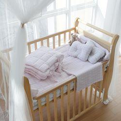 [쟈니스타] 슈아비 아기침대전용 침구SET - 핑크