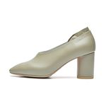 YJ007 Frill Point Pumps Pink
