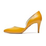PM0002 Side open pumps yellow