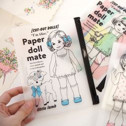 paper doll mate clear pouch.S ver2