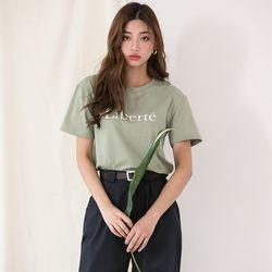 [로코식스] 리버 라운드 티셔츠