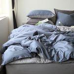프리미엄 모달 블루 침구-라지킹풀세트